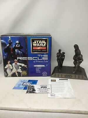 Star Wars Collectors Series The Rescue of Princess Leia statue by Applause