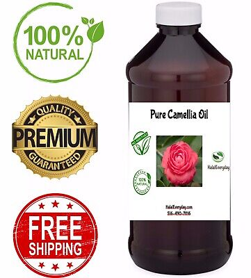Camellia Seed Oil - Japanese Unrefined COLD PRESSED 100% Pure & Natural Carrier