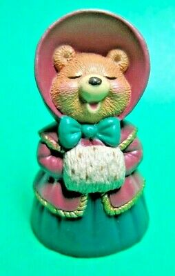 Hallmark Merry Miniature Christmas Caroling Bear Figurine (C90)