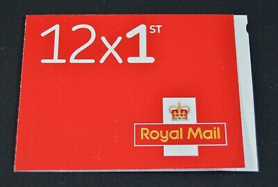 New - Royal Mail Stamps - FIRST 1st CLASS Book of 12 Letter Stamps