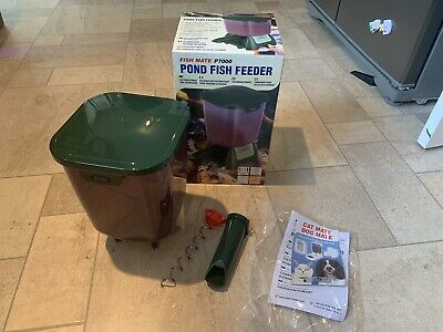 Fish Mate P7000 Pond Fish Feeder Hopper, Nozzle And Feed Screw