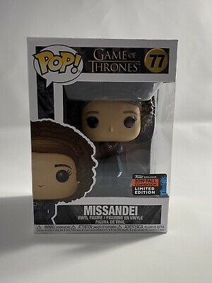 Funko POP MISSANDEI NYCC 2019 Convention Sticker Vinyl Figure *IN HAND* #77