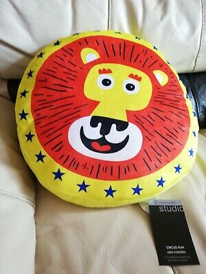 Catherine Lansfield Transport Shaped Filled Cushion 46 x 38 Cm Bright