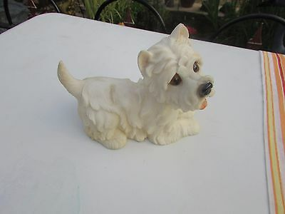 "Dogs and ornaments - latex mould mold of a Westie Dog 5""x6""x3"""