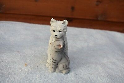 latex mould mold of a SMALL  DOG AND CAT 9CMS X 8 CMS