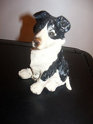 "Dogs and ornaments - latex mould mold of a Collie  Dog 5"" tall"