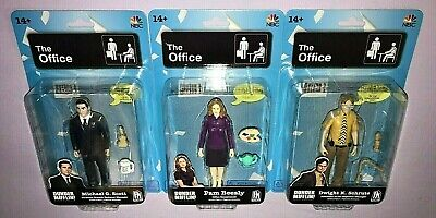 The Office Dwight Schrute / Michael Scott / Pam Beesly Series 1 Action Figures
