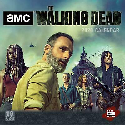 The Walking Dead 2020 Official Square Wall Calendar
