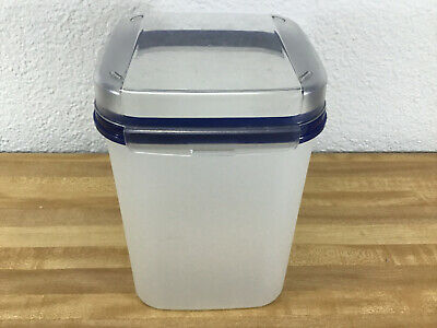 Tupperware Modular Mate Square 23 Cup 5.5L With Flip Top Lid 5504B-1 Blue