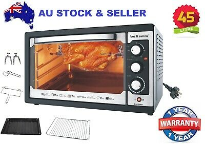 45L Convection Rotisserie BBQ Oven Powerful 1850W Brand New with 1 year Warranty