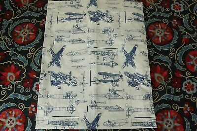 BABY AND CHILD RESTORATION HARDWARE Toddler Duvet Cover  PLANES / AIRPLANES