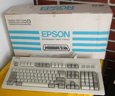 Epson Type-3 keyboard for vintage PC system
