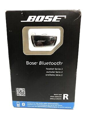 BRAND NEW Bose Bluetooth Headset Series 2 Right Ear Black Headset Factory Sealed