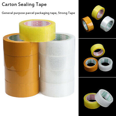 Transparent Package Strong Clear Carton Sealing Parcel Packing Tape Sellotape