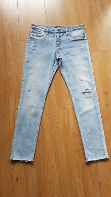 girls H&M soft denim jeans worn a handful of times and no longer fit age 12/13