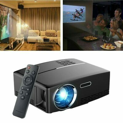 Portable 4K HD 1080P Projector 3D LED 3000 Lumens Game Video Entertainment USB