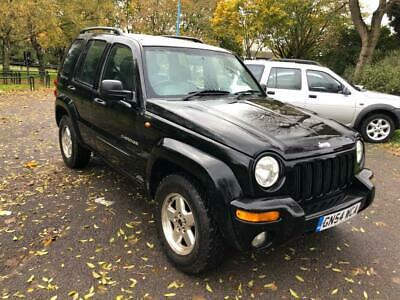 54 CHRYSLER JEEP CHEROKEE 2.8 CRD 148 4x4 AUTO LIMITED FSH LONG MOT PX SWAPS