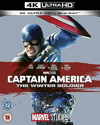 Marvel Studios Captain America: The Winter Soldier [4K Blu Ray]