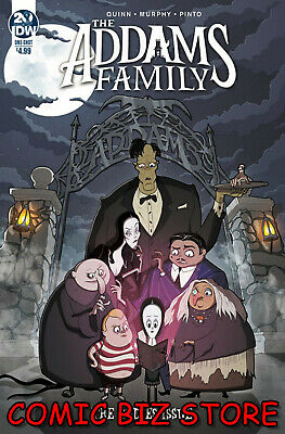 Addams Family The Bodies (2019) 1St Printing Murphy Cover A Idw ($4.99)
