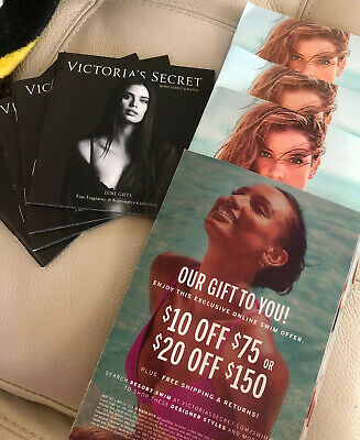 FOUR Victoria Secret Coupon Swim Suit $10 Off $75 Or $20 Off $150 VS Gift Swim