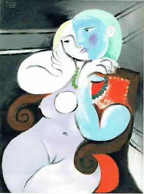 Reclining Nude Pablo Picasso 04.04.32 Poster Canvas Picture Art Print Pre A0 A4