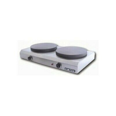 Pancake Electric Double Slim - Plates 35 CM