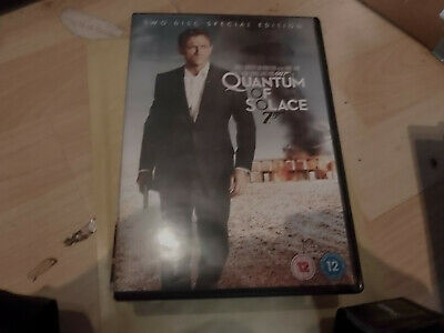 Quantum of Solace  (UK DVD) Free Postage
