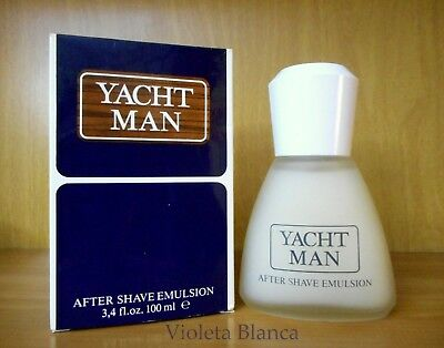 Vintage after shave emulsion YACHT MAN de Mas Cosmetics. 100 ml. NUEVO NEW
