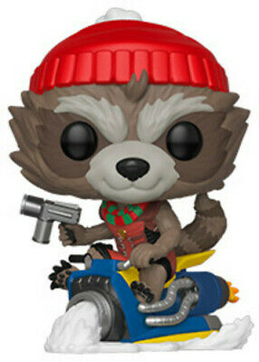Holiday - Rocket - Funko Pop! Marvel: (2019, Toy NUEVO)