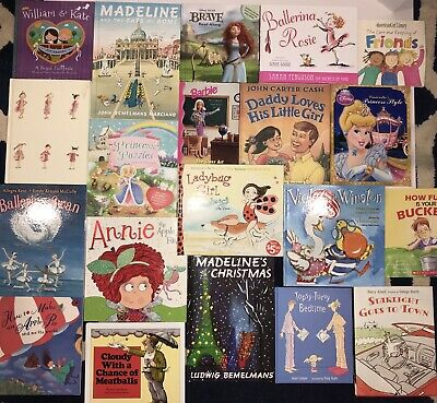 Kids Childrens Strong Girls Young Beginner Bedtime Story Reading Books Lot Of 20