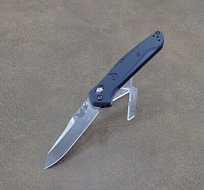 Benchmade Osborne 940-2 AXIS Lock Knife Black G-10 S30V Blade - New - Authentic