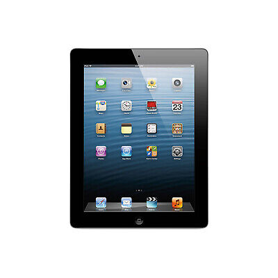 "Apple iPad 4th Generation 9.7"" RETINA DIS- 16GB 1Y Warranty 24H Delivery A Grade"