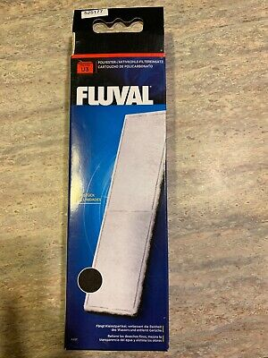 FLUVAL U3 UNDERWATER FILTER POLY//CARBON A491 2PK.