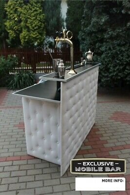 Exlusive mobile bar with beer tap and cooling system