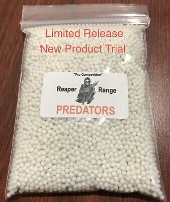"7-8mm Gel Blaster ""PREDATORS"". Gel Ball Ammo. REAPER RANGE Tight Bore"