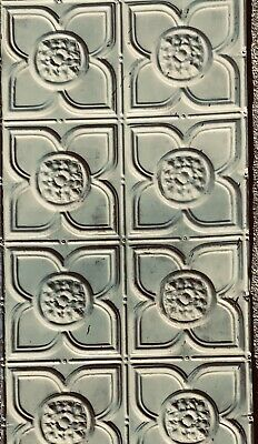 Vintage Antique Metal Tin Ceiling Tile 4'x2' Reclaim Architectural Create Design