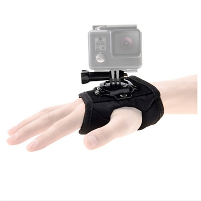 PULUZ 360° Rotation Glove Style Palm Strap Mount Band for DJI Osmo Action,GoPro
