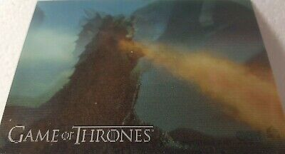 2019 RITTENHOUSE GAME OF THRONES INFLEXIONS Lenticular Motion Card L03 Fire
