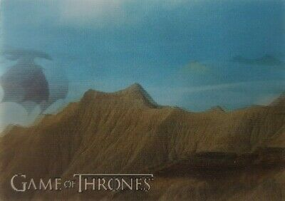 2019 RITTENHOUSE GAME OF THRONES INFLEXIONS Lenticular Motion Card L04 Dragon