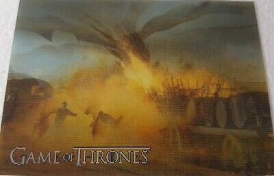 2019 RITTENHOUSE GAME OF THRONES INFLEXIONS Lenticular Motion Card L14 Attacks