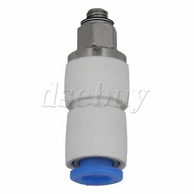 6mm Pneumatic Push to Connect Air Fitting M5 Male Thread Straight Connector