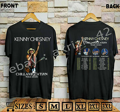 new Kenny Chesney Shirt Chillaxification Tour 2020 T-shirt Sizes S-5XL