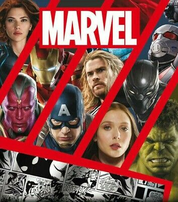 PANINI 2017 MARVEL UK Trading Card Set of 198 Avengers - Civi War ......