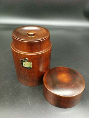 Japanese Tea Caddy  laquer wood container (03)