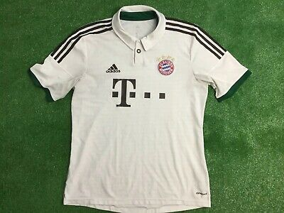 Bayern Munich 2013 - 14 Adidas  Shirt  Away Football Shirt Size Large Adult