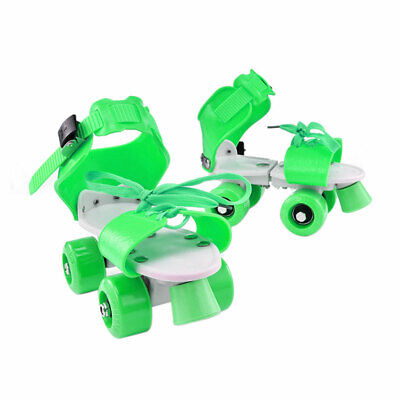 Girl Boy Kids Skate Shoes ABS Four Wheel Adjustable Wear Resistant Children Gift