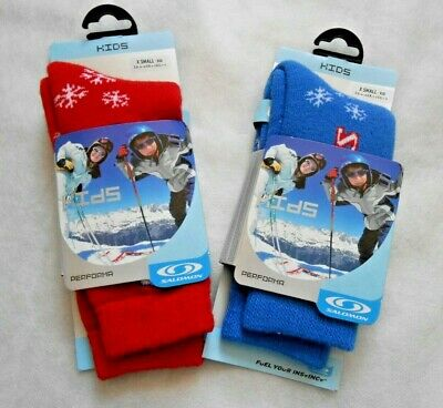 Salomon Kids Ski Performa Socks XS UK.6-8 EU.24-26