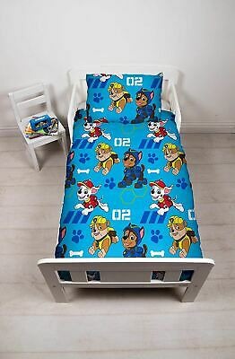 Paw Patrol Spy Junior Toddler Cot Bed Bundle, Including Duvet, Pillow, Bedding