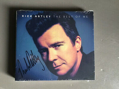 Rick Astley The Best Of Me Signed Limited 2 Disc Edition SEALED