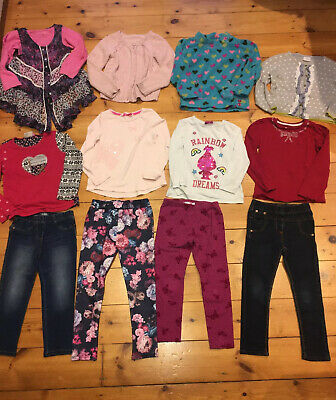 Girls Large Clothes Bundle T-Shirts Tops Next Jeans 4-5 Yrs ⭐️GC⭐️